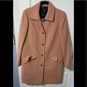 Excellent used condition, J. Crew women's classic Lady Day Coat 8 Tall